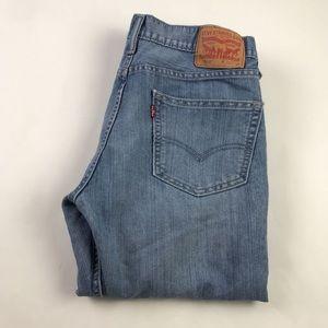 Levis 511 Mens Slim Fit Jeans Blue 34 x 32